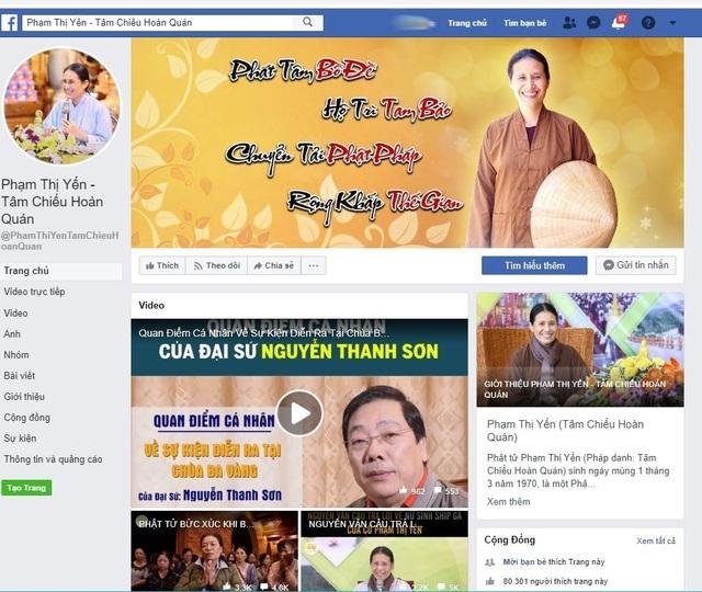 Facebook chỉ chặn chứ không khóa tài khoản bà Phạm Thị Yến? - 2