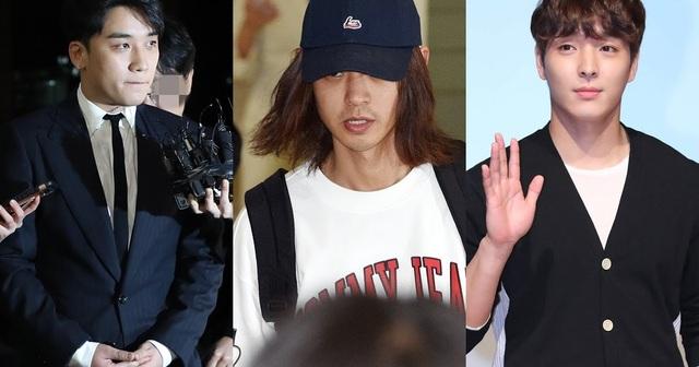 """Seungri, Jung Joon Young, và Choi Jong Hoon bị """"cấm cửa"""" trên truyền hình - 2"""
