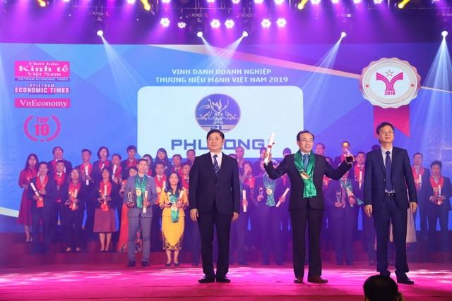 Phú Long được vinh danh Top 10 thương hiệu mạnh dẫn đầu Việt Nam 2018 - 1