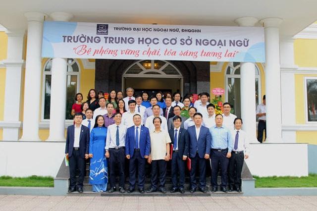 Thành lập trường THCS ngoại ngữ trực thuộc Trường ĐH Ngoại ngữ - ĐH QGHN - 2
