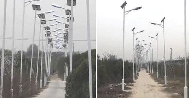 Con đường sáng nhất Trung Quốc gây tranh cãi: Dài 3 km, lắp hơn 1.000 đèn cao áp - 1