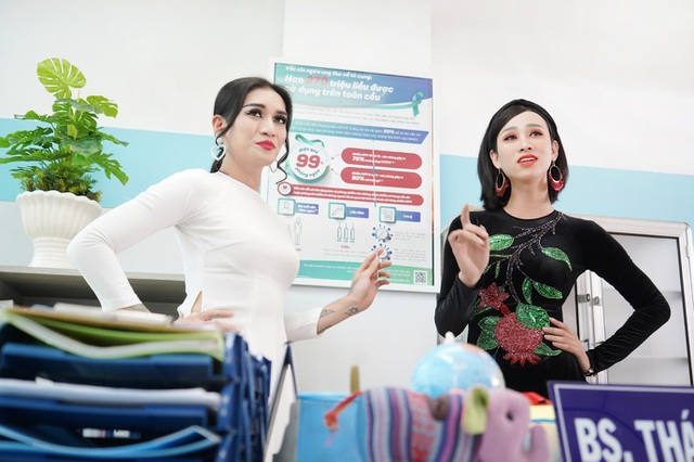 Y tá BB Trần và Hải Triều khuấy động phòng khám trong phim hài mới - 4