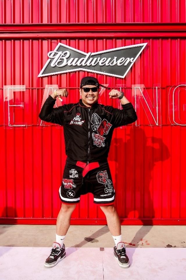 Fung La cùng dàn sao Underground xuất hiện cực chất tại sự kiện đặc biệt của Budweiser - 2