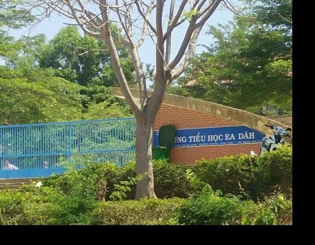 Nữ giáo viên bị đập dép vào mặt ngay trước cổng trường vì nợ nần - 1