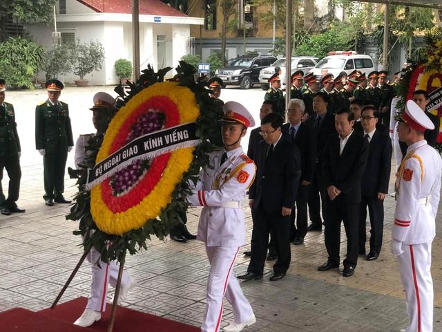 Lãnh đạo Đảng, Nhà nước dâng hương viếng Trung tướng Đồng Sỹ Nguyên - 9