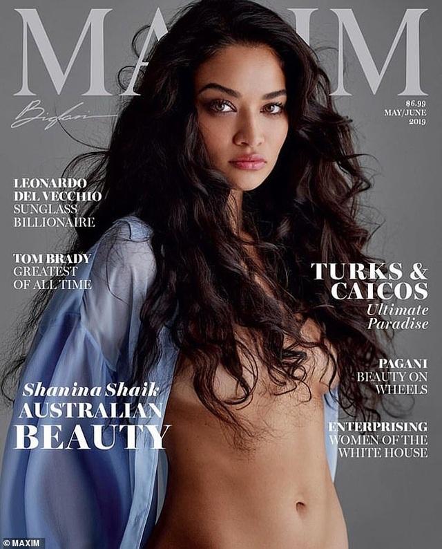 Vẻ đẹp hút hồn của người mẫu Úc trên trang bìa tạp chí dành cho nam giới
