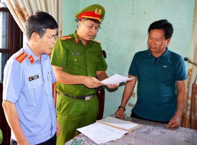 Bắt giam cán bộ Trung tâm phát triển quỹ đất Điện Bàn