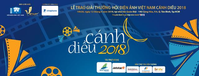 Lễ trao giải thưởng hội Điện ảnh Việt Nam – Cánh diều 2018 được tổ chức tại TP.HCM - 1