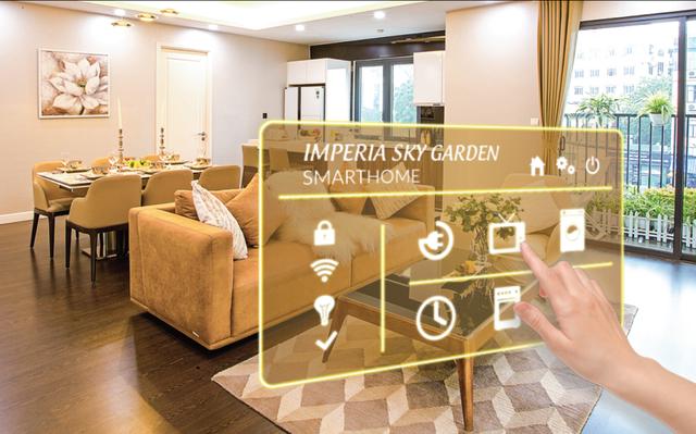 Cơ hội sở hữu căn hộ thông minh tại Imperia Sky Garden - 1