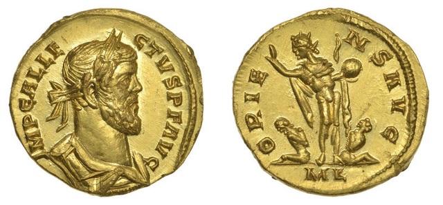 Ăn may vớ đồng xu vàng cổ trị giá 3 tỷ đồng ở cánh đồng - 1