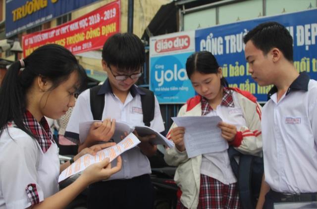 TPHCM: Số học sinh không có suất vào lớp 10 công lập cao nhất từ trước đến nay - 1