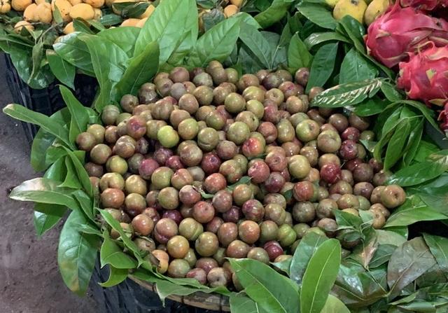 Đắt gấp đôi hàng ngoại, mận Việt chua chát 300 ngàn đồng/kg vẫn cháy hàng - 1