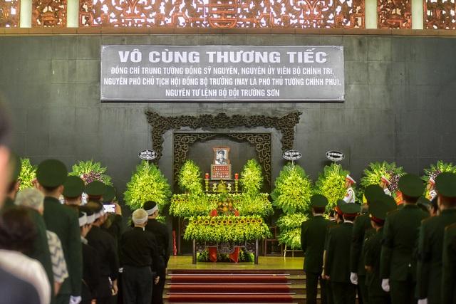 Hình ảnh Lễ truy điệu Trung tướng Đồng Sỹ Nguyên - 5