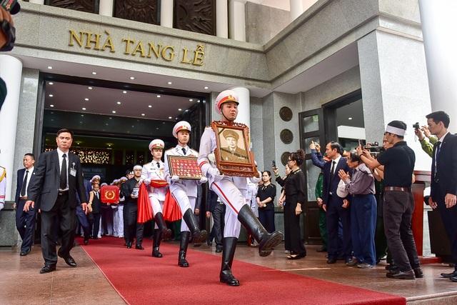 Hình ảnh Lễ truy điệu Trung tướng Đồng Sỹ Nguyên - 14