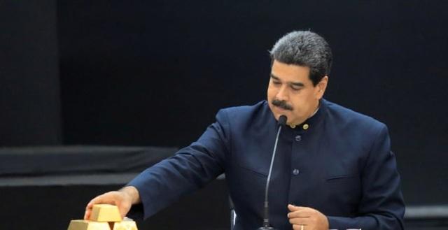 """Venezuela có thể bán 8 tấn vàng giữa trừng phạt """"bủa vây"""" - 1"""