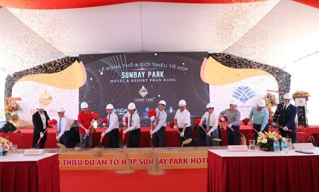 Tập đoàn Crystal Bay cùng đối tác động thổ và giới thiệu dự án tổ hợp nghỉ dưỡng lớn nhất Ninh Thuận - 3