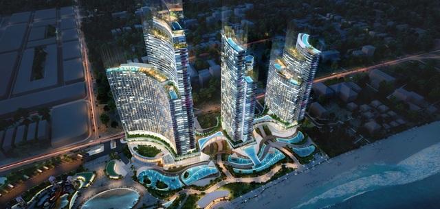 Tập đoàn Crystal Bay cùng đối tác động thổ và giới thiệu dự án tổ hợp nghỉ dưỡng lớn nhất Ninh Thuận - 1