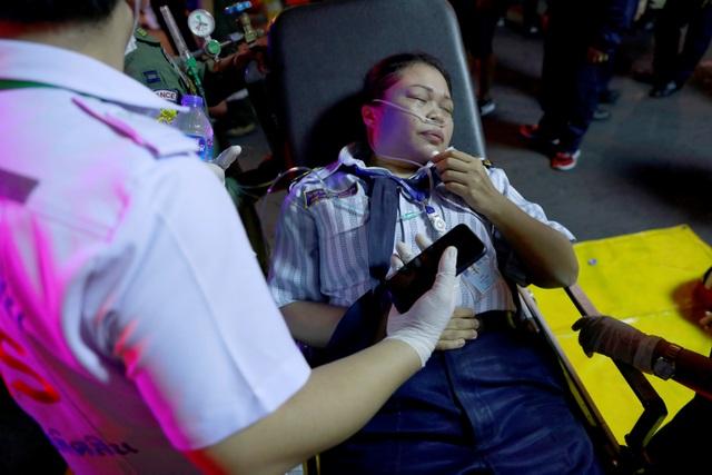 Hiện trường vụ cháy trung tâm thương mại Thái Lan khiến ít nhất 3 người chết - 12