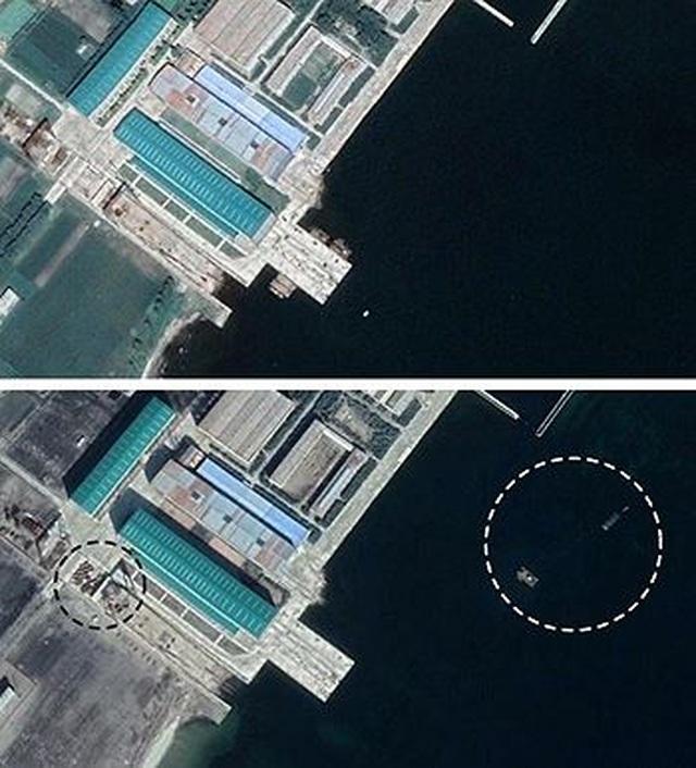 Triều Tiên sắp có tàu ngầm mang tên lửa đạn đạo mới? - 1
