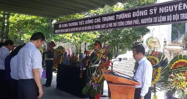 Quảng Trị tổ chức Lễ viếng Trung tướng Đồng Sỹ Nguyên tại Nghĩa trang liệt sĩ Trường Sơn - 1