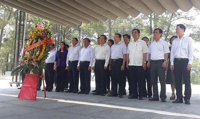Quảng Trị tổ chức Lễ viếng Trung tướng Đồng Sỹ Nguyên tại Nghĩa trang liệt sĩ Trường Sơn - 2