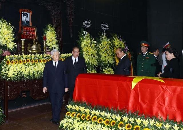 Lãnh đạo Đảng, Nhà nước tiễn biệt Trung tướng Đồng Sỹ Nguyên - 3