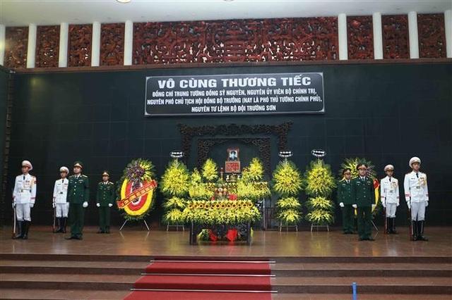 Lãnh đạo Đảng, Nhà nước tiễn biệt Trung tướng Đồng Sỹ Nguyên - 1