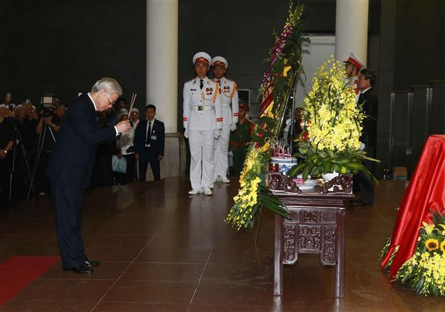 Lãnh đạo Đảng, Nhà nước tiễn biệt Trung tướng Đồng Sỹ Nguyên - 5