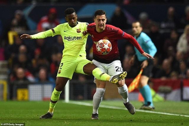 Những khoảnh khắc Barcelona hạ gục Man Utd ở Old Trafford - 12