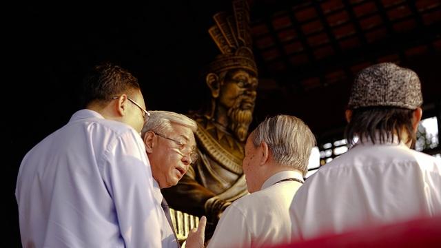 Cùng ngắm Quảng trường Vua Hùng mới, chuẩn bị mở cửa trong ngày Giỗ Tổ - 4