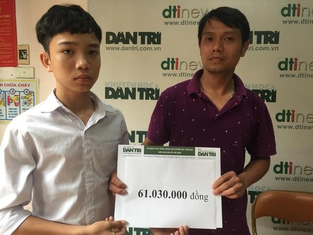 Hơn 61 triệu đồng đến với cậu bé Quyền mồ côi - 3