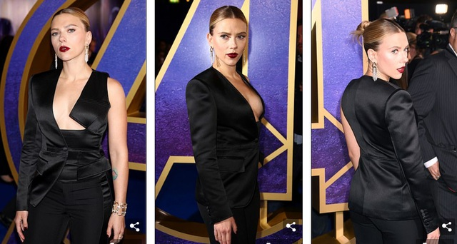 Scarlett Johansson khoe ngực căng tròn - 1