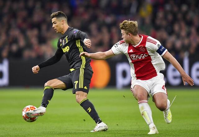 C.Ronaldo lập công, Juventus chật vật cầm hòa Ajax - 8