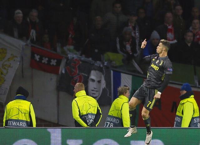 C.Ronaldo lập công, Juventus chật vật cầm hòa Ajax - 6
