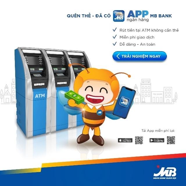 APP MBbank: Rút tiền ATM không cần thẻ - an toàn tuyệt đối - 2