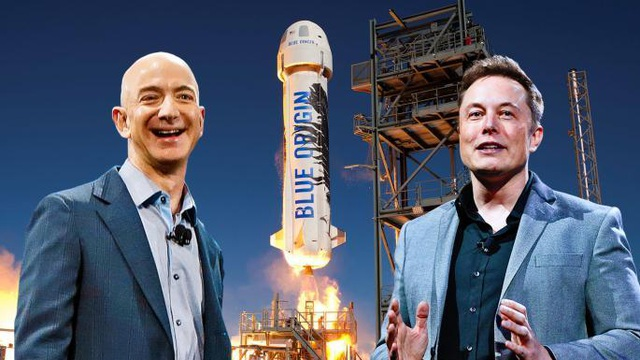 """Elon Musk """"đá đểu"""" ông chủ Amazon là kẻ sao chép - 1"""