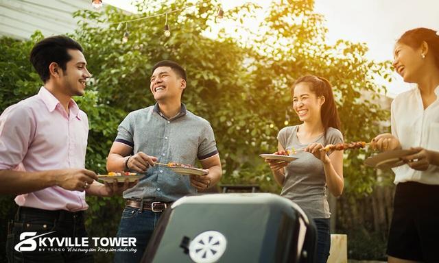 Giải mã chung cư cao cấp giá bình dân tại Tecco Skyville Tower - 3