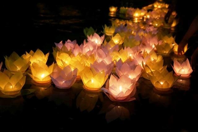 Cố đô Hoa Lư lung linh trong đêm hội hoa đăng cầu quốc thái dân an - 14