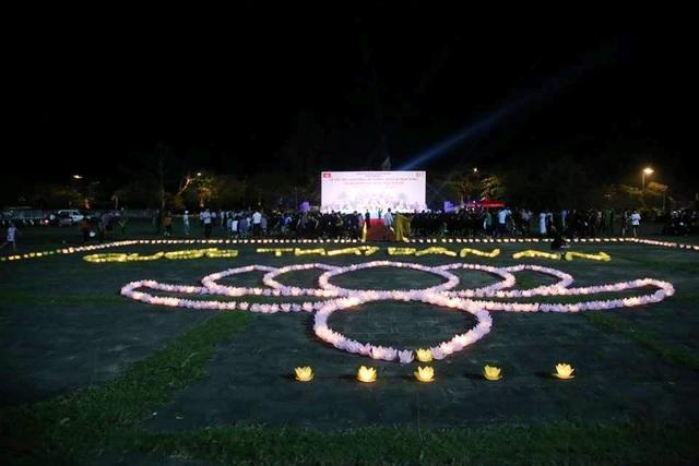Cố đô Hoa Lư lung linh trong đêm hội hoa đăng cầu quốc thái dân an - 1