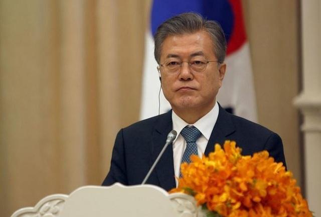 Tổng thống Hàn Quốc sang Mỹ cứu vãn đối thoại với Triều Tiên - 1