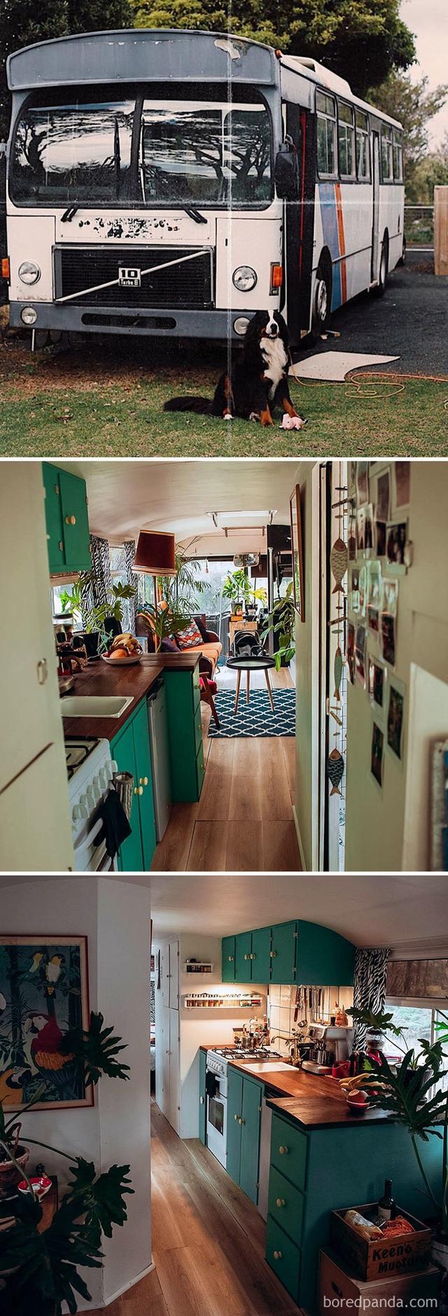 """Những ngôi nhà tạm trong xe """"ăn đứt"""" biệt thự, nhà lầu - 2"""