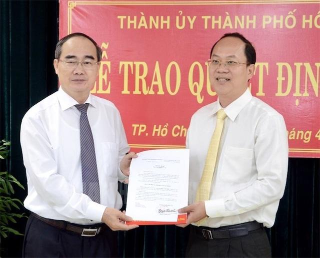 TPHCM có tân Trưởng Ban Tổ chức Thành ủy - 1