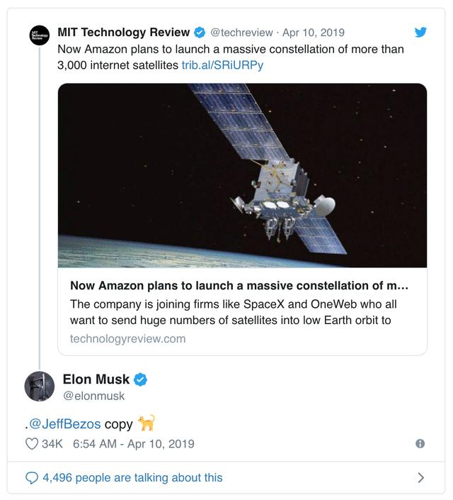 """Elon Musk """"đá đểu"""" ông chủ Amazon là kẻ sao chép - 2"""