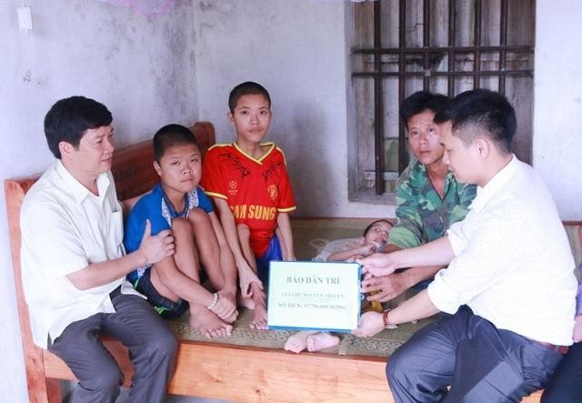 Ban đọc tiếp tục giúp đỡ gia đình chị Nguyễn Thị Len hơn 37 triệu đồng - 2