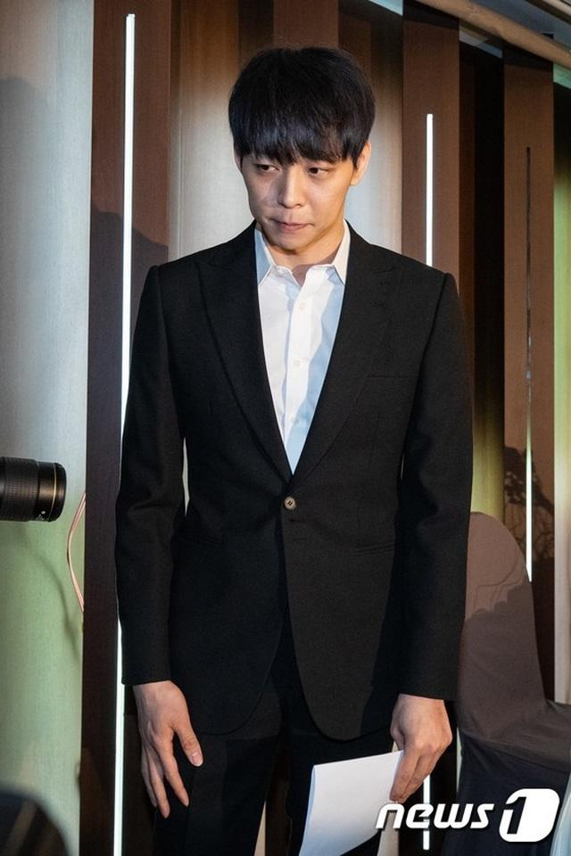Park Yoochun mở họp báo nói về mối quan hệ với bạn gái cũ vừa bị bắt vì ma túy - 1