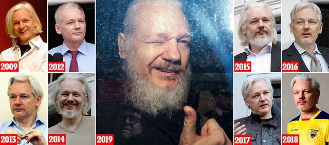 Sự thay đổi kinh ngạc của ông chủ WikiLeaks sau 7 năm lẩn trốn - 1