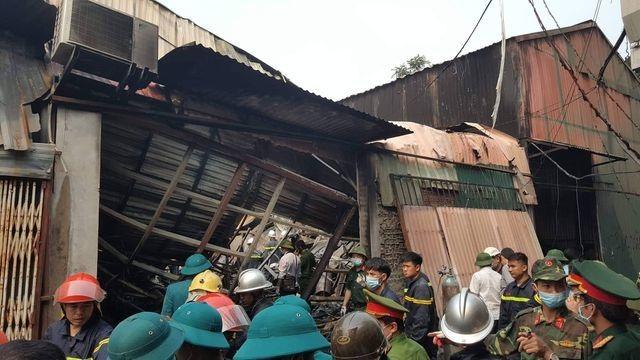 Khởi tố vụ án cháy khu nhà xưởng khiến 8 người thiệt mạng ở Hà Nội - 1