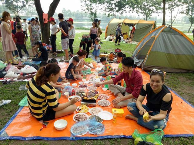 Khám phá 4 điểm cắm trại tuyệt đẹp ngay giữa Hà Nội trong dịp nghỉ lễ - 2