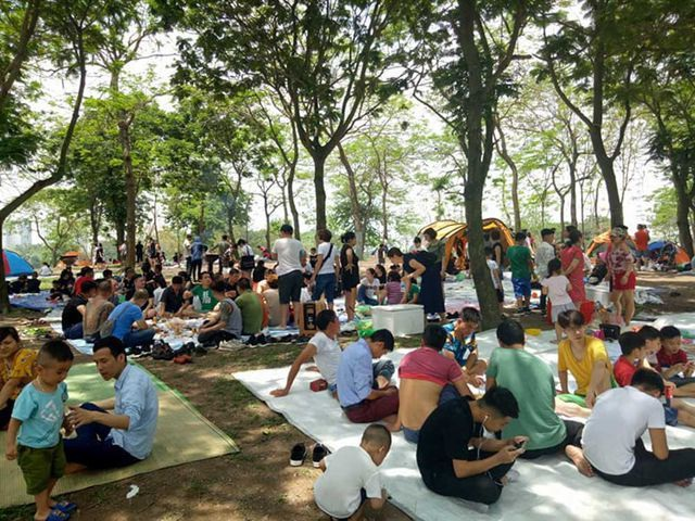 Khám phá 4 điểm cắm trại tuyệt đẹp ngay giữa Hà Nội trong dịp nghỉ lễ - 1