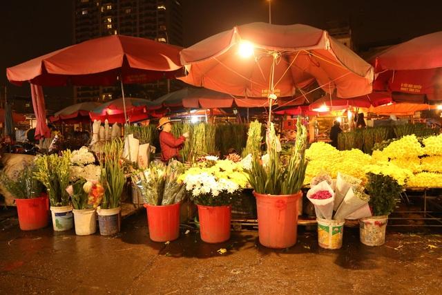 Đêm không ngủ ở chợ hoa nổi tiếng Hà Nội - 1